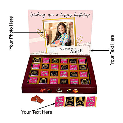 online best personalised chocolate for her