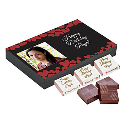 Personalised Chocolate box for her