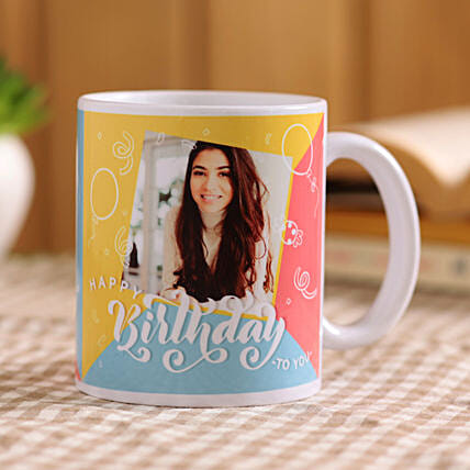 personalised birthday mug online:Customised Coffee Mug