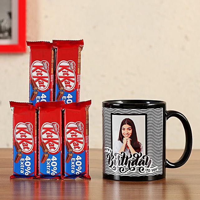 printed coffee mug with kit kat