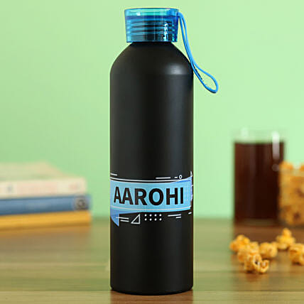 personalised metal water bottle online