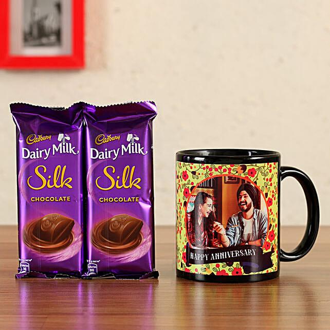 silk chocolate with mug online