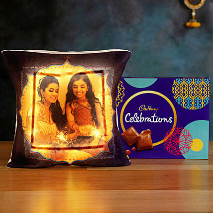 Buy Online LED Cushion with Cadbury