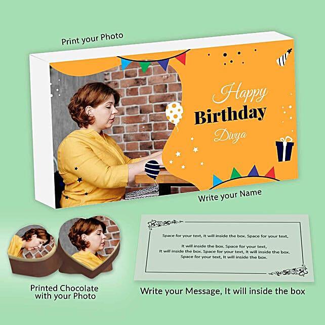 Personalised Chocolates For Birthday