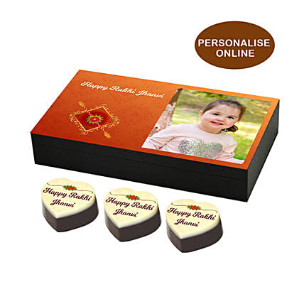 Personalised Photo Rakhi Box Online