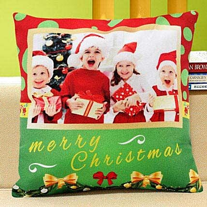 Merry christmas cushion:Christmas Personalised Gifts