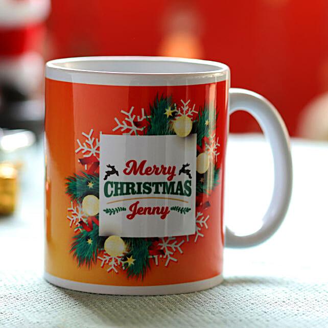 Merry Christmas Printed Coffee Mug Online