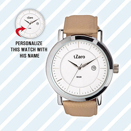 Personalised Classy Watch For Him