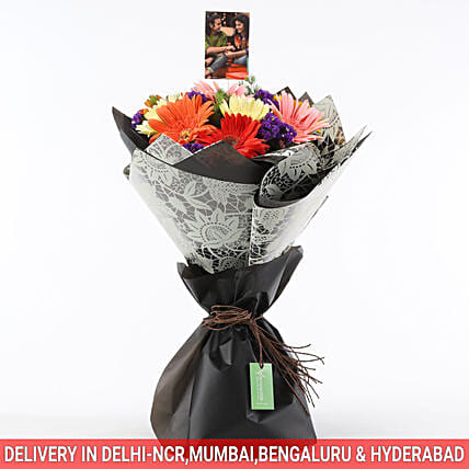 customised colour flower bouquet online