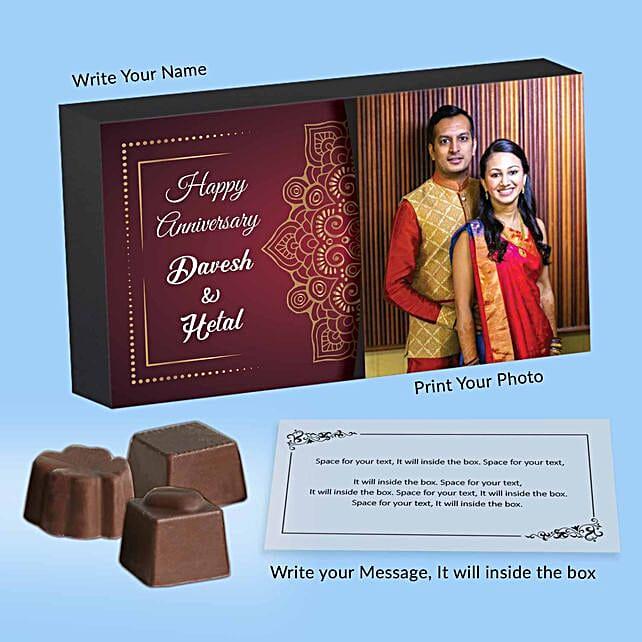 Personalised Couple Chocolate Box
