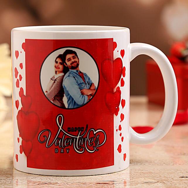 vday theme coffee mug online:Valentine Personalised Mugs