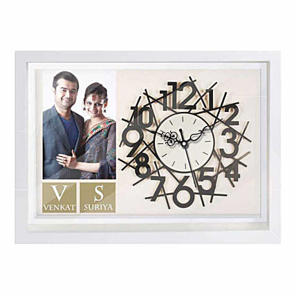 Wall Clock with Photo Online