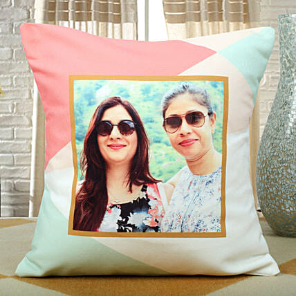 Personalised sober cushion:Gifts for Female Friend
