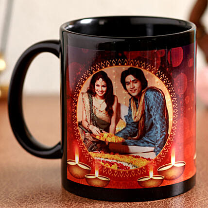 happy diwali printed mug:Diwali Mugs
