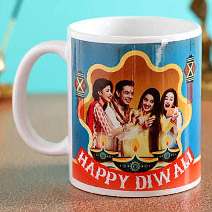 white for diwali festival:Diwali Mugs