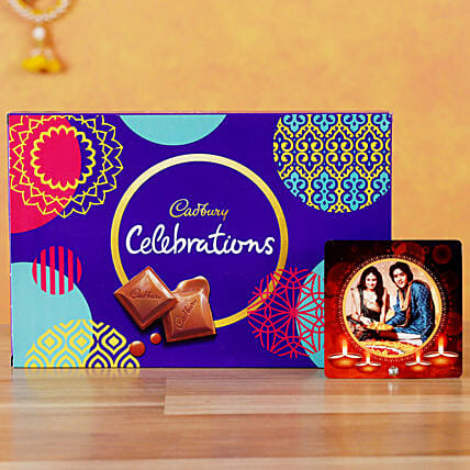 Send Table Top with Cadbury Celebrations