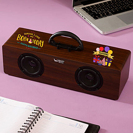Personalised Name Printed Speaker