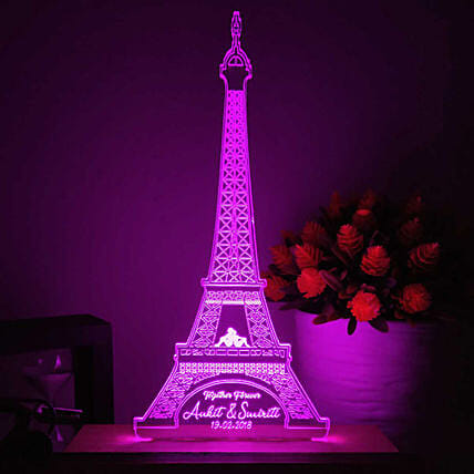 online eiffle tower shape led night lamp online