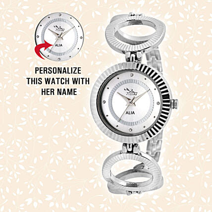 Personalised Enchanting Silver Watch