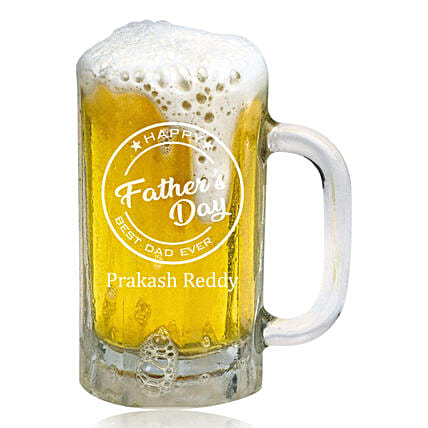 Personalised Father's Day Beer Mug Online