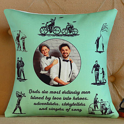 Personalised Father's Day Cushion- Hand Delivery