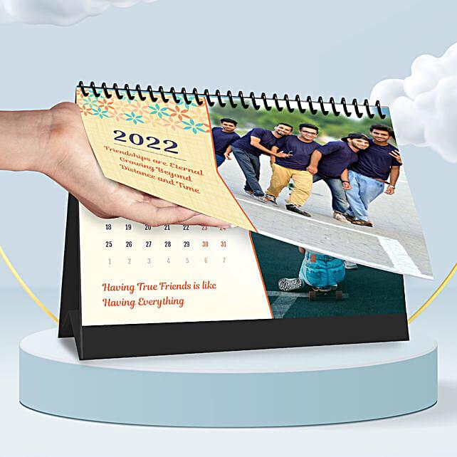 Personalised Friendship Forever Calendar