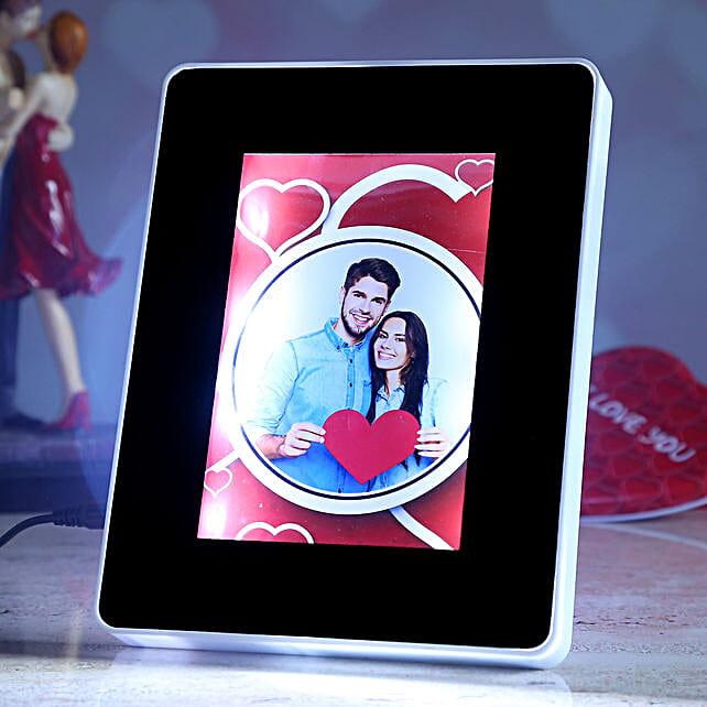 online valentine theme personalised magic mirror