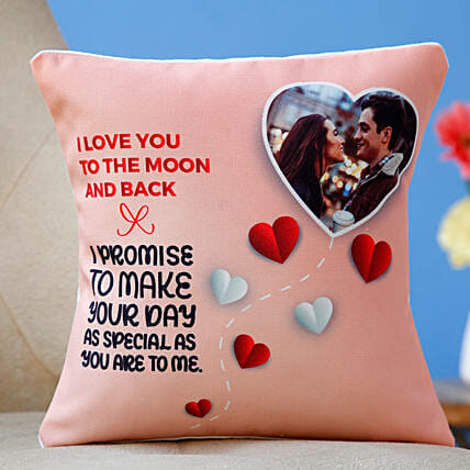 valentine theme printed cushion:Personalised Cushions for Valentine