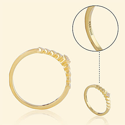 Customise Gold Ring Online