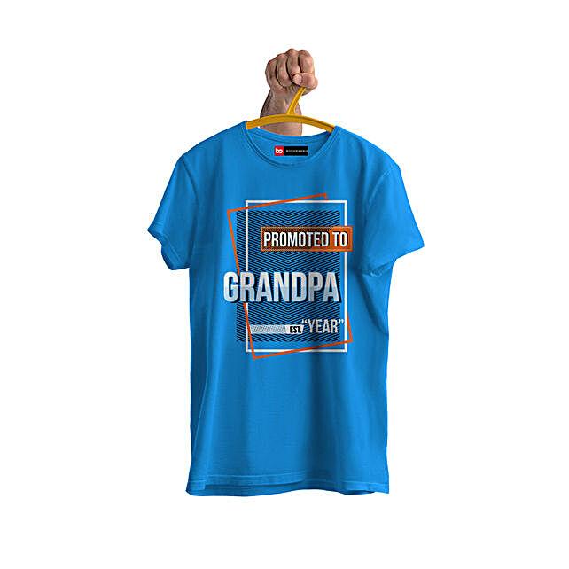 Online Personalised Grandpa Tshirt