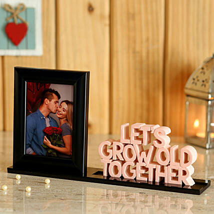 Personalised Table Top For Couple:Personalised Gifts for Husband