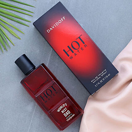 Personalised Happy Fathers Day Hot Water EDT