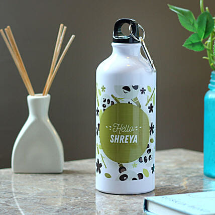 lovely printed bottle:Send Personalised Message Bottles