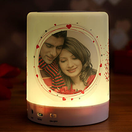 personalised bluetooth led speaker online