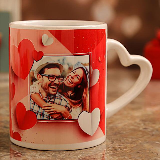 personalised mug for vday:Valentine Personalised Mugs