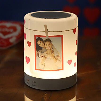 personalised bluetooth led speaker:Electronic Gifts