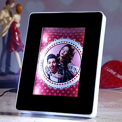 online personalised magic mirror for vday:Personalized Photo Frames