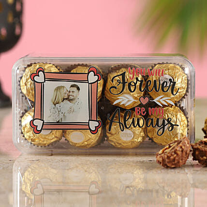 Personalised Love Ferrero Rocher Box:Customised Chocolates