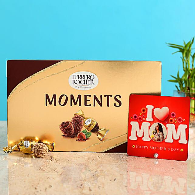 Personalised Love Mom Table Top Ferrero Rocher