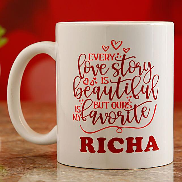 printed valentine day mug:Valentines Day Mugs