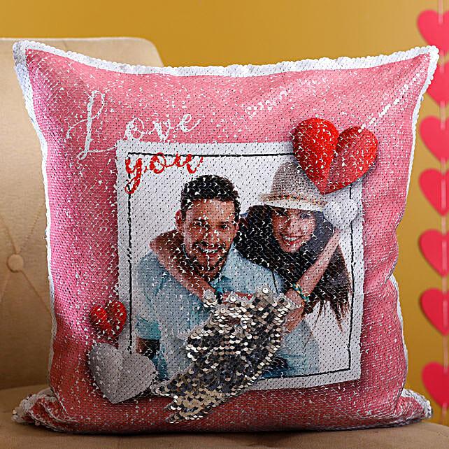 Customised Love Couple Cushion