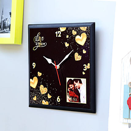 photo clock for mom:Personalised Clock