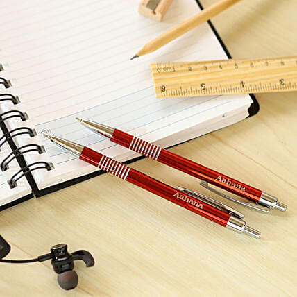 exclusive personalised pen set online