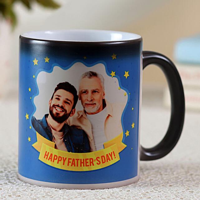 printed message fathers day mug