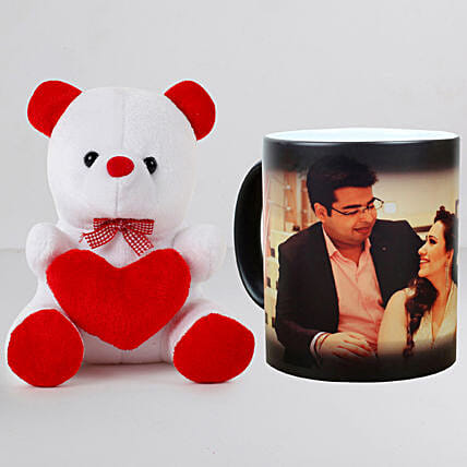 Personalised Magic Mug n Teddy:Personalised Gifts N Teddy Bears
