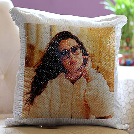 Magical Sequin Cushion Online