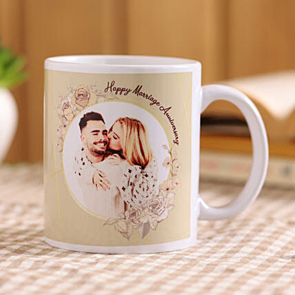 anniversary mug for couple online:Personalised Mug