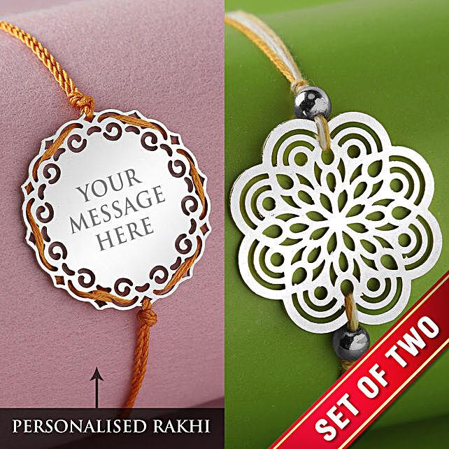 Customise Rakhi For Brother:Send Personalised Rakhi