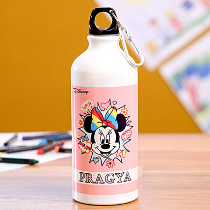 Personalised Minnie Mouse Bottle