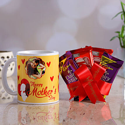 Personalised Mother Day Mug And Chocolates